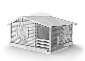 Wood House Concept Stock Image - Image: 7811831