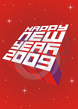 Happy New Year Royalty Free Stock Photos - Image: 7811918