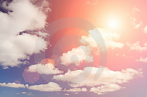Beautiful Cloudscape Background Royalty Free Stock Photography - Image: 7812717