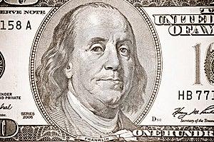 100 Täta Dollar Upp Royaltyfri Foto - Bild: 7812975