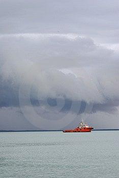 Tug With Courage Stock Photo - Image: 7815360