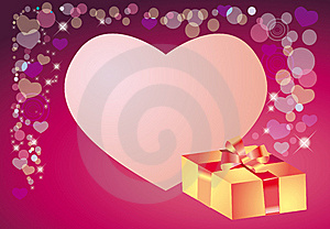 Background To The Day Of Valentine Stock Image - Image: 7815511