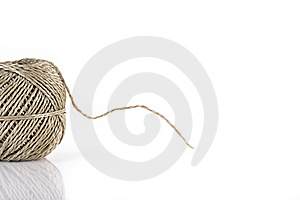 Ball Of Parcel String Royalty Free Stock Photography - Image: 7815777