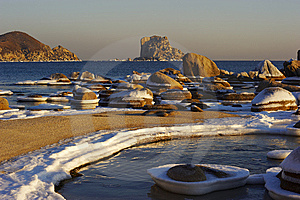 Sea Winter Landscape-3 Royalty Free Stock Photos - Image: 7816108