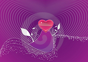 14th February Celebrate Card Stock Image - Image: 7816241