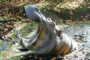 Hippopotamus Sculpture Stock Photos - Image: 7817283
