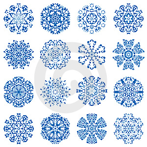Some Of My Snowflakes Stock Image - Image: 7818311