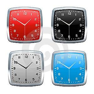 Wall Clock  Royalty Free Stock Photo - Image: 7819715