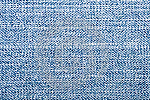 Niebieskich Dżinsów Macro Tkanina Fotografia Royalty Free - Obraz: 7821657
