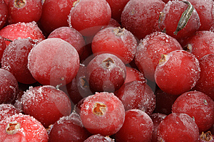 Frozen Cranberry. Royalty Free Stock Images - Image: 7822159