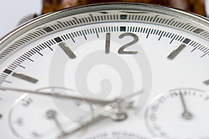 Wrist Watch 12 Copyspace Royalty Free Stock Photo - Image: 7823275