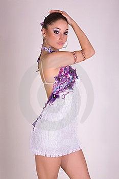 Professioneel Dansersmeisje Royalty-vrije Stock Afbeelding - Beeld: 7823546