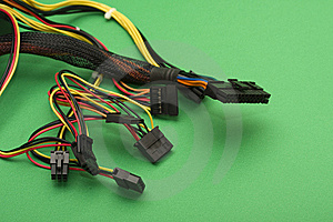 Power Supply Connectors Royalty Free Stock Image - Image: 7823846