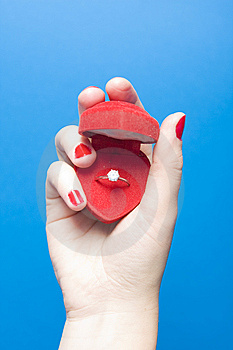 Marriage Proposal Royalty Free Stock Images - Image: 7824539