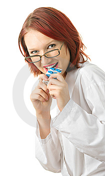 Doctor With A Pills Royalty Free Stock Photos - Image: 7825488