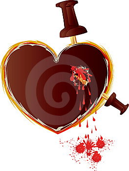 Bloodheart Royalty Free Stock Image - Image: 7825876