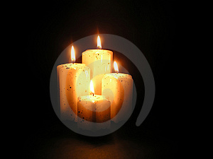 Candles Royalty Free Stock Image - Image: 7827606