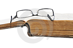 Old Large Book Stock Image - Image: 7827941