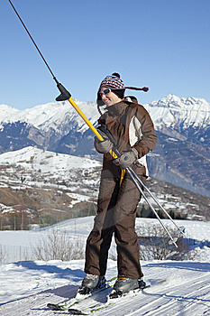Skier Stock Photography - Image: 7828322