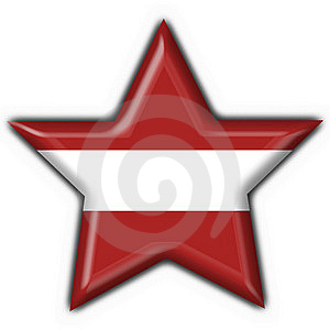 Latvia Button Flag Star Shape Royalty Free Stock Photo - Image: 7829045