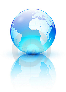 Blue earth Free Stock Image