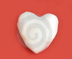 Snow Heart Royalty Free Stock Photos - Image: 7829898
