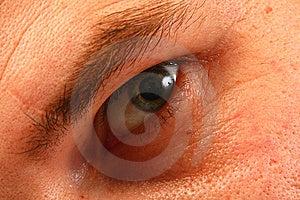 взрослый глаз Стоковые Изображения - изображение: 7829944