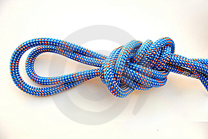 Double Figure Eight Knot Royalty Free Stock Photo - Image: 7830735