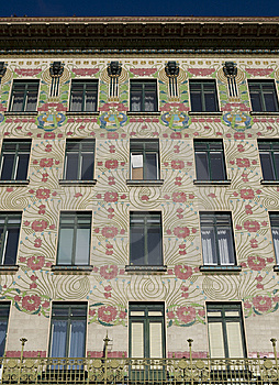 Viennese Architecture Art Nouveau, Otto Wagner Stock Photo - Image: 7831020