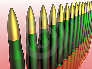 Bullets Stock Photo - Image: 7832270