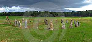 Cromlech Stock Photos - Image: 7833383
