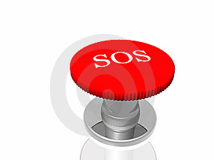Red Button With Inscription Stock Photos - Image: 7833463