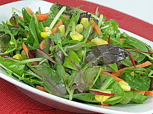 Salad Royalty Free Stock Photo - Image: 7833835