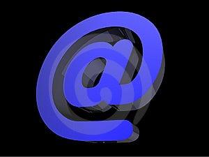 Email Symbol Stock Photo - Image: 7834450