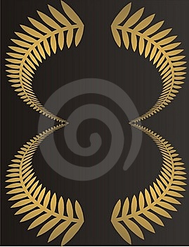Golden Frame Royalty Free Stock Image - Image: 7836696