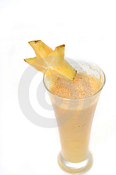 Starfruit Juice Royalty Free Stock Photo - Image: 7838375