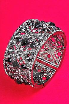 Diamond Bracelet Royalty Free Stock Photo - Image: 7839645