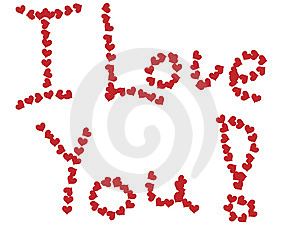 I Love You ! Royalty Free Stock Photography - Image: 7840047