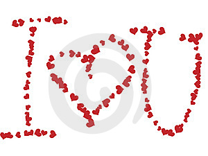 I Love You ! Stock Photos - Image: 7840193