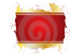 Grungy Red Frame Royalty Free Stock Image - Image: 7842956