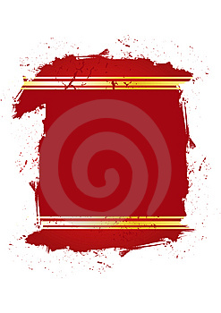 Grungy Red Frame Royalty Free Stock Photos - Image: 7842978