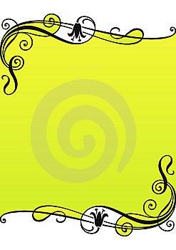 Floral Frame Stock Image - Image: 7842981