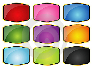 Shield Collection Royalty Free Stock Photo - Image: 7843245