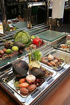 Vegetables Reception Stock Photos - Image: 7844163