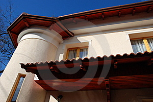 Mediterranean-style New Home Stock Images - Image: 7845114