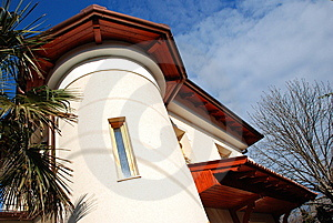Mediterranean-style New Home Stock Photography - Image: 7845192