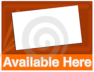 Available Here Royalty Free Stock Photo - Image: 7845235