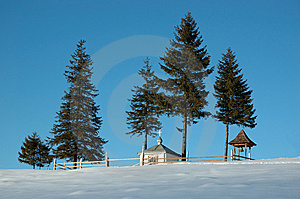 Chapel In Countryside Stock Images - Image: 7845914
