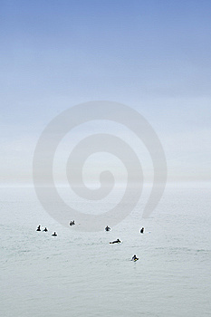 Calm Ocean Horizon Royalty Free Stock Images - Image: 7847379