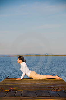 Yoga Woman Stock Photos - Image: 7847413